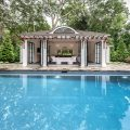pool house in fairfield county