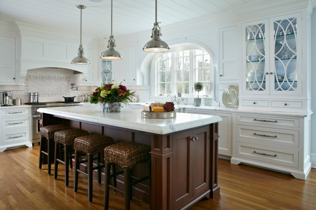 Sophisticated Kitchen Remodel in Fairfield County CT